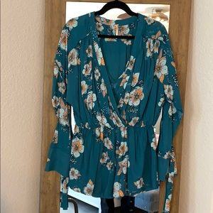 Free People kimono style dress/long blouse